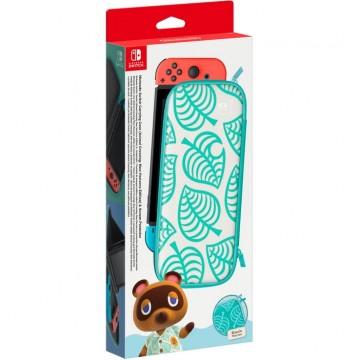 Oficiālā Nintendo Switch Aizsarga Soma un Ekrāna Aizsargs Animal Crossing (Jauna)
