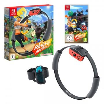 Nintendo Switch Ring Fit Adventure (Jauns)