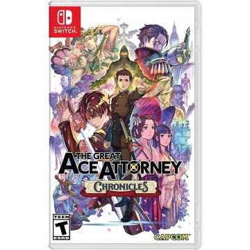 The Great Ace Attorney Chronicles (Jauna)