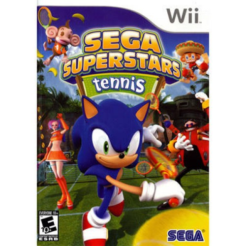 Sega Superstars Tennis (Lietota)