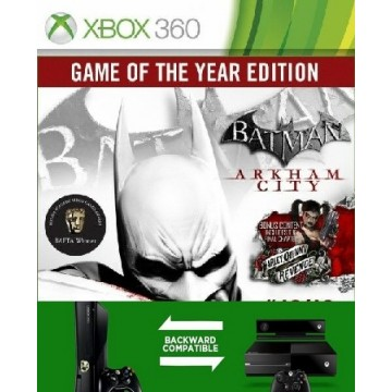 Batman Arkham City Game of The Year Edition (Jauna)