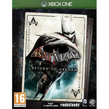 Batman Return to Arkham (Lietota)