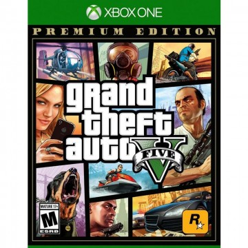 Grand Theft Auto 5 Premium Edition (Jauna)