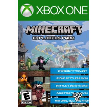 Minecraft Piedzīvojumu Meklētāja Spēles Papildināšanas Digitālais Kods (Jauna)