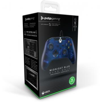 Xbox Series/One Controller ar Vadu PDP Microsoft Oficiāli Licencēts  + Windows 10 Midnight Blue (Jauna)
