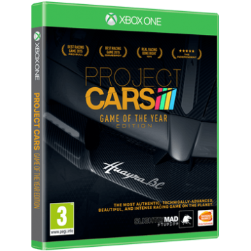 Project Cars Game of the Year Edition (Jauna)