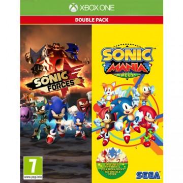 Sonic Mania Plus un Sonic Forces Dubult Paka (Jauna)