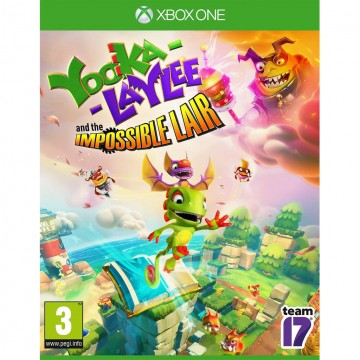 Yooka Laylee and the Impossible Lair (Jauna)