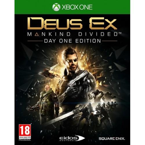 Deus Ex Mankind Divided Day One Edititon (Jauna)