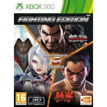 Ultimate Fighting Triple Pack 3 spēles 1 diskā Tekken 6 Tekken Tag Tournament 2 Soulcalibur V (Jauna)