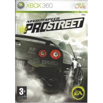 Need for Speed Pro Street (Jauna)