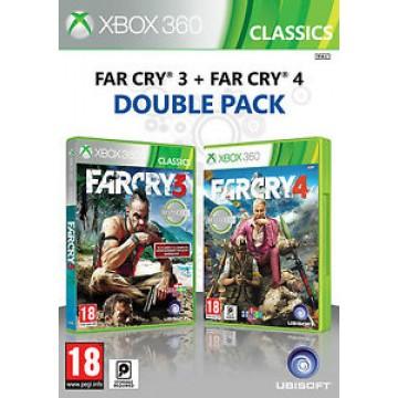 Far Cry 3 un Far Cry 4 Dubult Paka (Jauna)